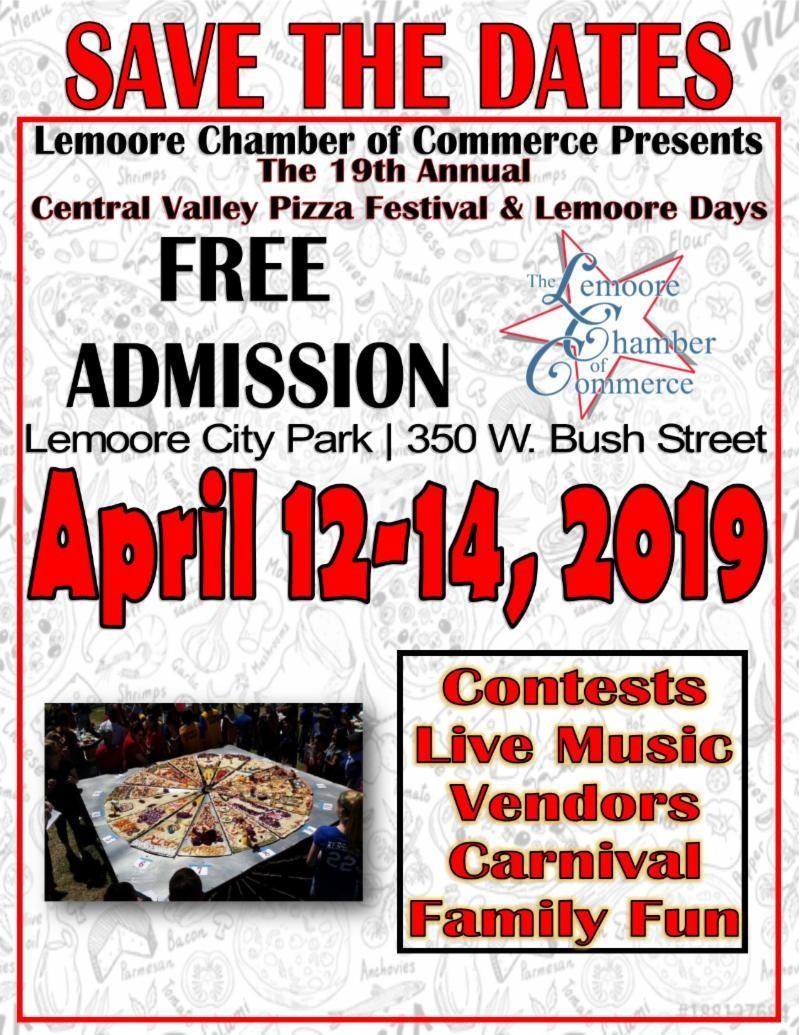 Pizza Festival – City of Lemoore